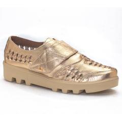 Oxford com Velcro Dourado