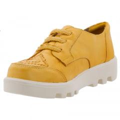 Oxford com Elásticos Amarelo