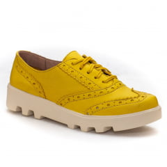 Oxford Brogue Amarelo