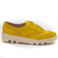 Oxford Brogue Amarelo