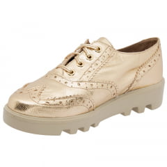 Oxford Brogue Dourado
