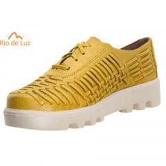 Oxford Tresse Amarelo