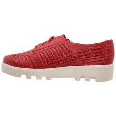 Oxford Tresse Vermelho Coral