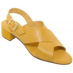 Sandália Feminina Amarelo